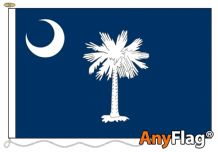 SOUTH CAROLINA  ANYFLAG RANGE - VARIOUS SIZES